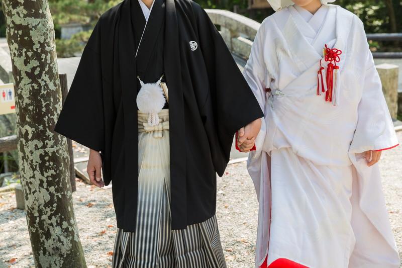 和婚の衣装