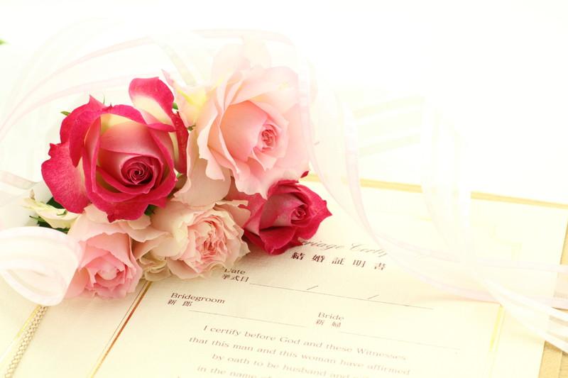 花束と誓約書